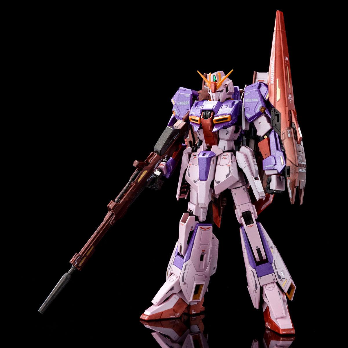 "RG 1/144 ゼータガンダム (バイオセンサーイメージカラー) [Zeta Gundam ""Biosensor Image Color""]"