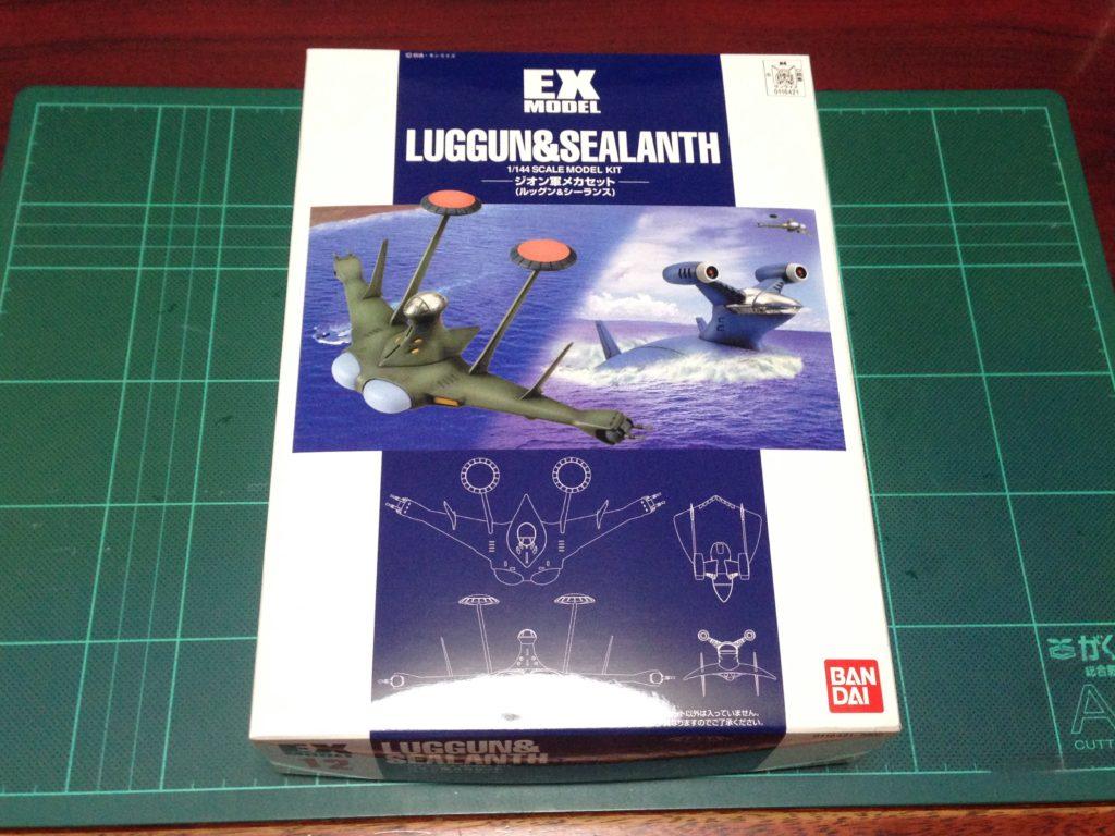 EXモデル 1/144 ルッグン&シーランス(ジオン軍メカセット) パッケージ