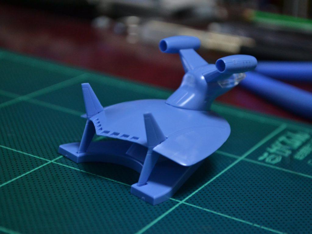 EXモデル 1/144 ルッグン&シーランス(ジオン軍メカセット) 背面