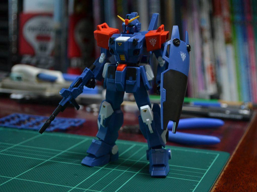 "HGUC 208 1/144 RX-79BD-2 ブルーディスティニー2号機""EXAM"" [Blue Destiny Unit 2] 正面"