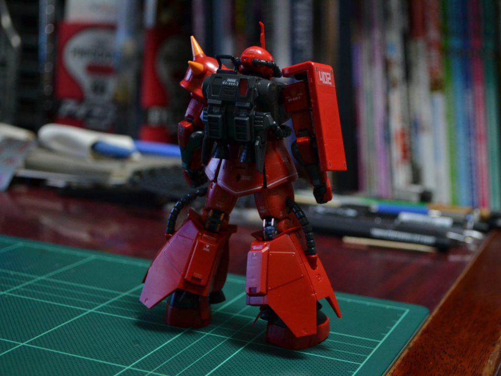 RG 1/144 MS-06R-2 ジョニー・ライデン専用ザクII [Johnny Ridden's Zaku II] 背面