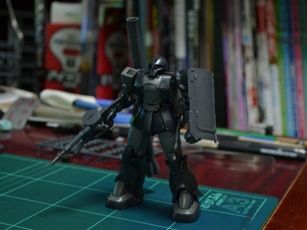 HG 1/144 MS-05 ザクI(キシリア部隊機) [Zaku I (Kycilia Zabi Forces)] 正面
