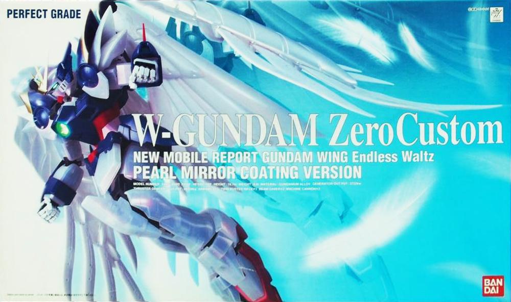 PG 1/60 XXXG-00W0 ウイングガンダムゼロ(EW版)パールミラーコーティングVer. [Wing Gundam Zero Custom (Pearl Mirror Coating Ver.)]
