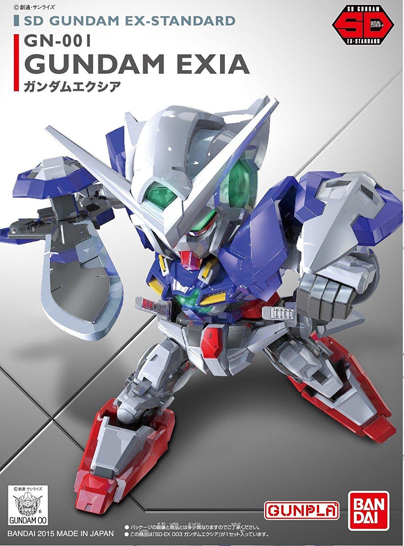 SDガンダムEXスタンダード(EXSD)  003 GN-001 ガンダムエクシア