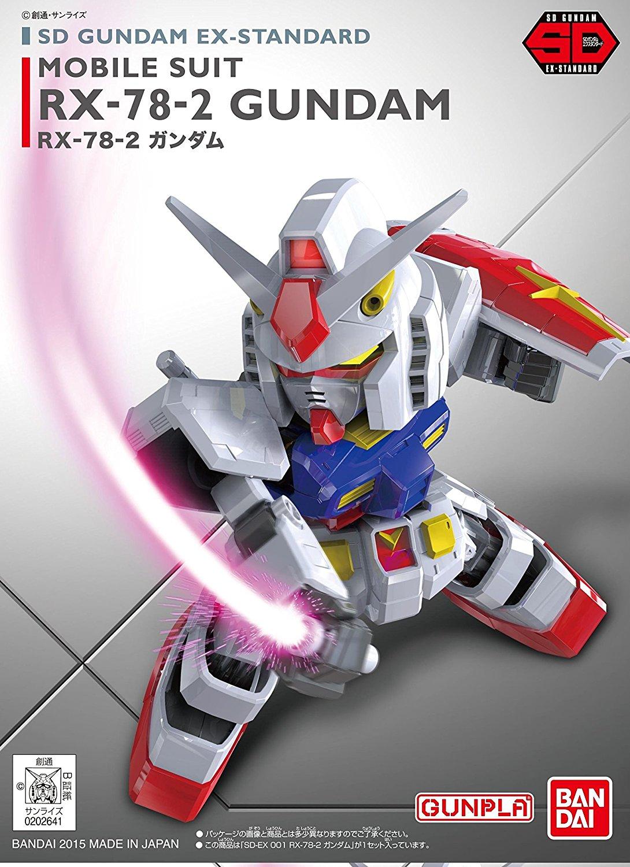 SDガンダム EXスタンダード(EXSD) 001 RX-78-2 ガンダム パッケージアート
