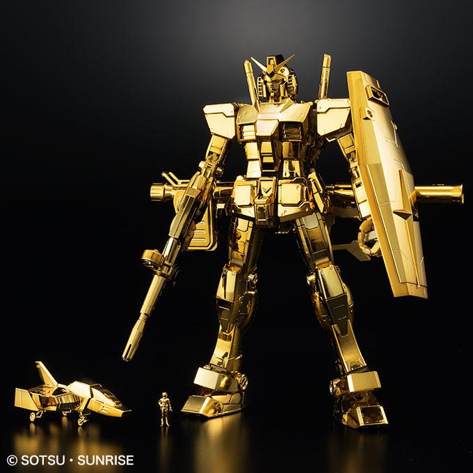 MG 1/100 ガンダムベース限定 RX-78-2 ガンダム Ver.3.0 [ゴールドコーティング] [The Gundam Base Limited Prize Gundam Ver.3.0 (Gold Coting)]