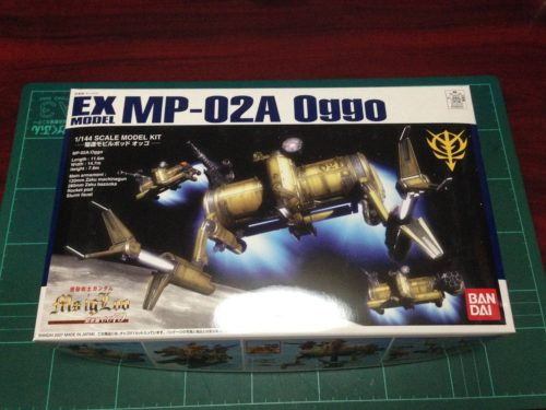 EX 1/144 MP-02A 駆逐モビルポッド オッゴ
