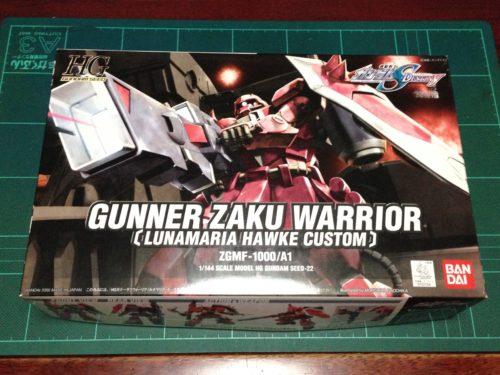 "HG 1/144 ZGMF-1000/A1 ガナーザクウォーリア(ルナマリア・ホーク専用機) [Gunner ZAKU Warrior ""Lunamaria Hawke Custom""]"