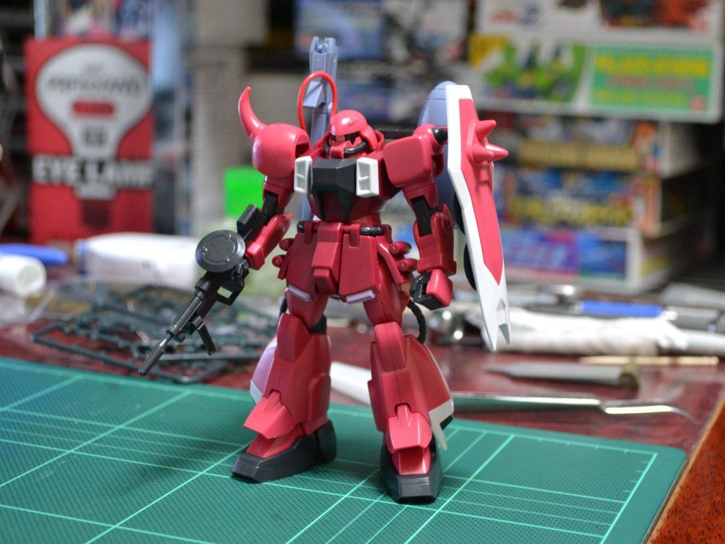 "HG 1/144 ZGMF-1000/A1 ガナーザクウォーリア(ルナマリア・ホーク専用機) [Gunner ZAKU Warrior ""Lunamaria Hawke Custom""] 正面"