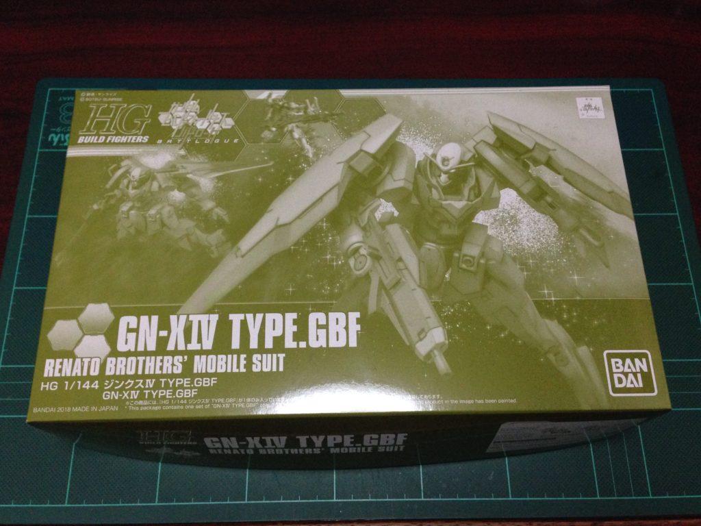 HGBF 1/144 GNX-803T ジンクスIV TYPE.GBF [GN-XIV] パッケージ