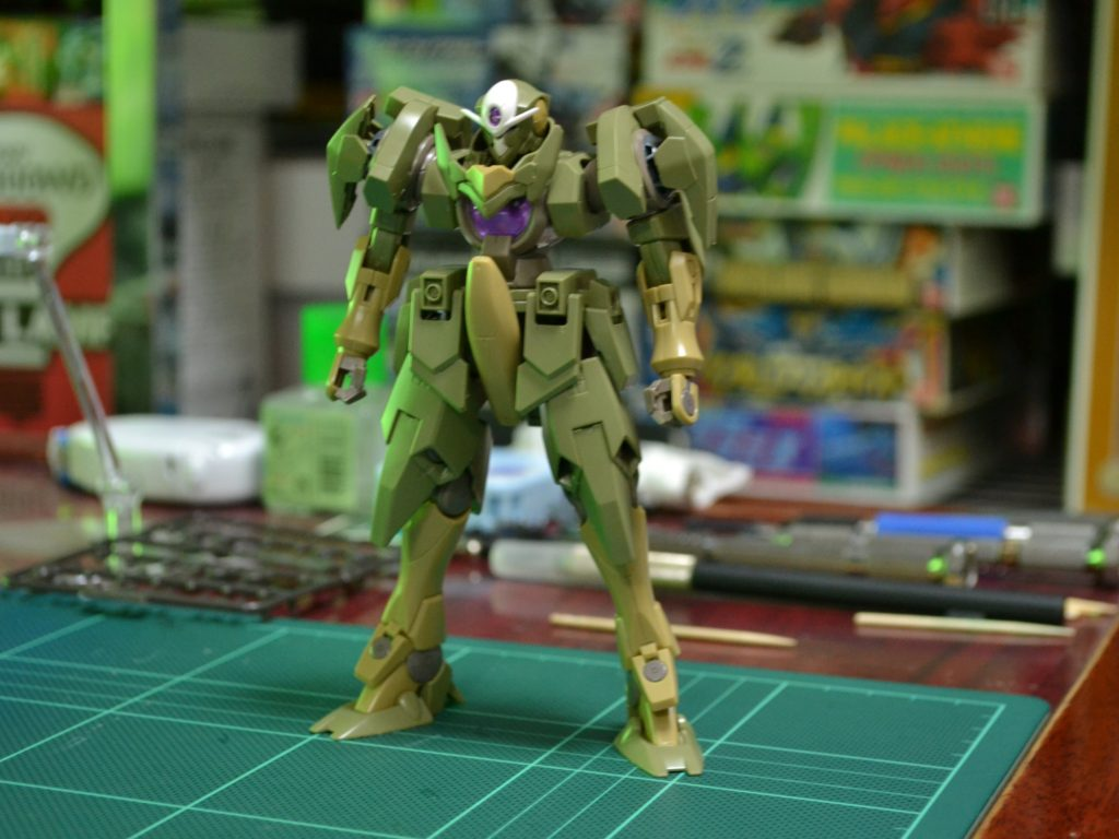 HGBF 1/144 GNX-803T ジンクスIV TYPE.GBF [GN-XIV] 正面