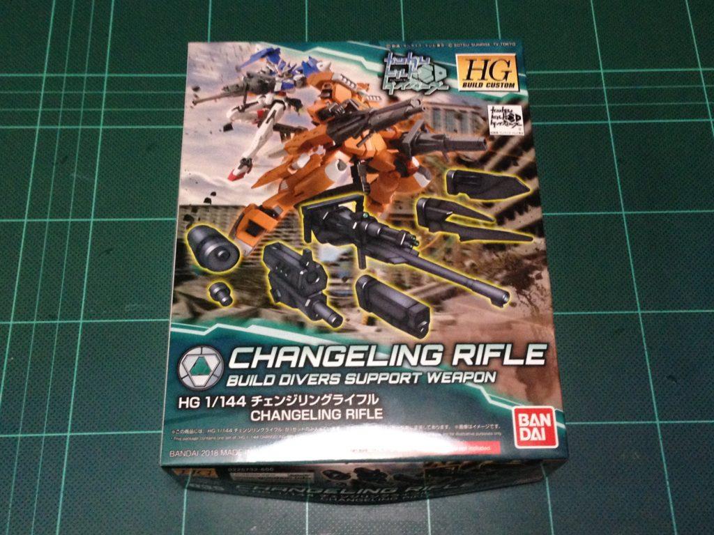 HGBC 035 1/144 チェンジリングライフル パッケージ