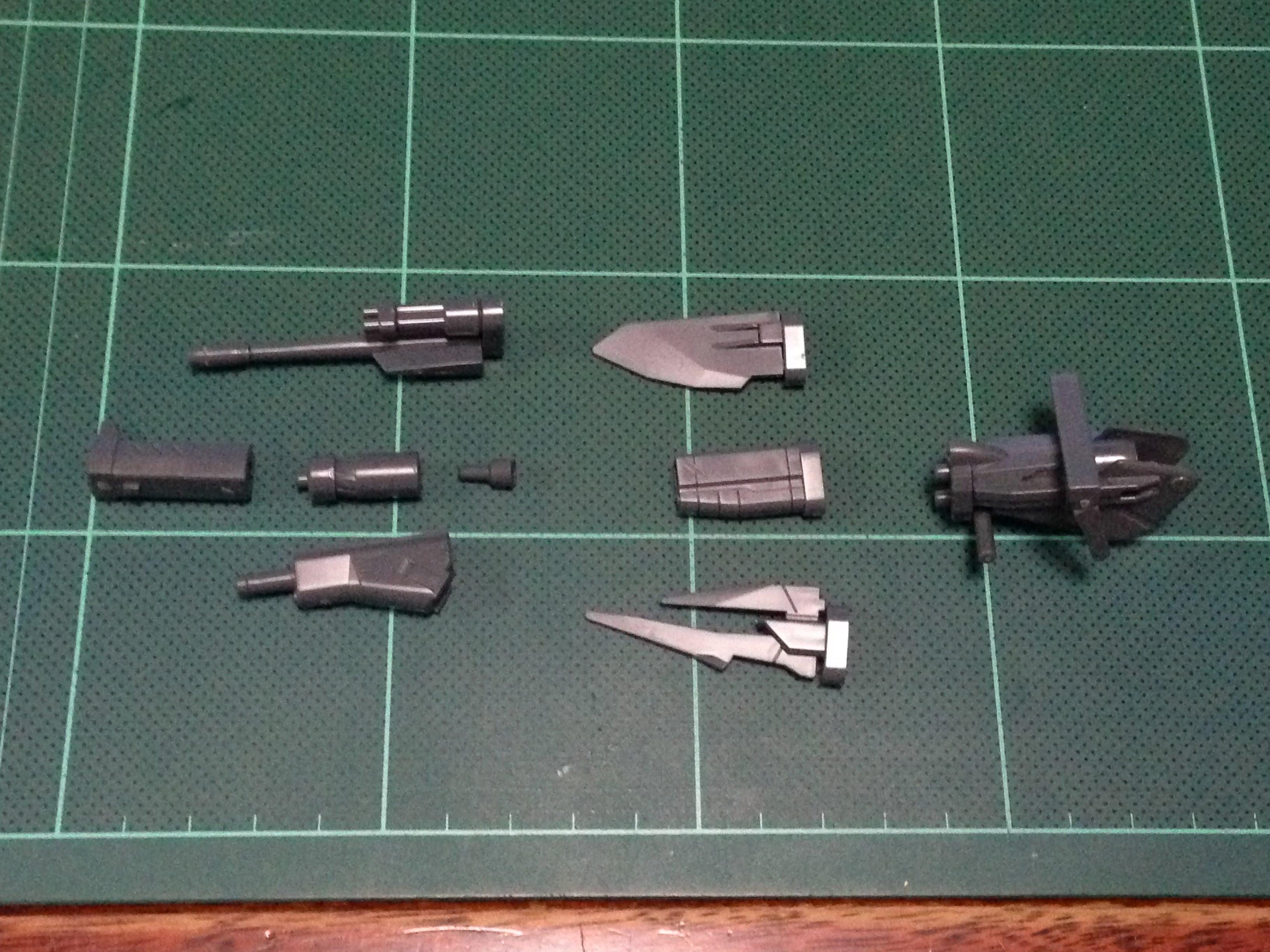 HGBC 035 1/144 チェンジリングライフル