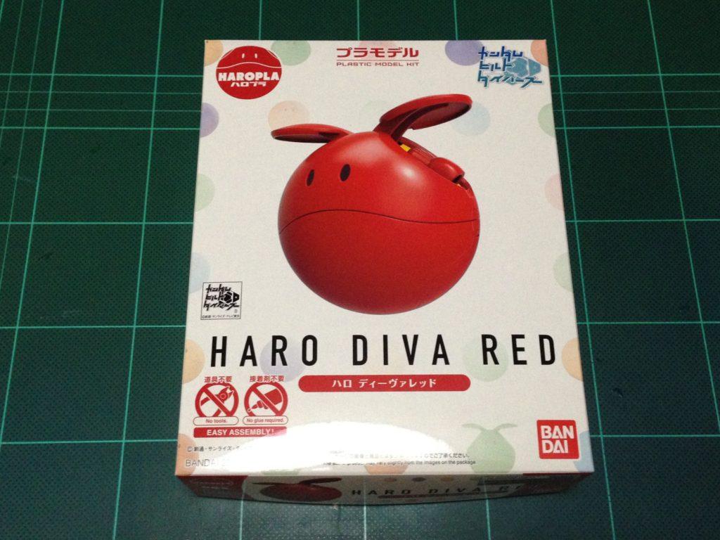 ハロプラ 002 ハロ ディーヴァレッド パッケージ