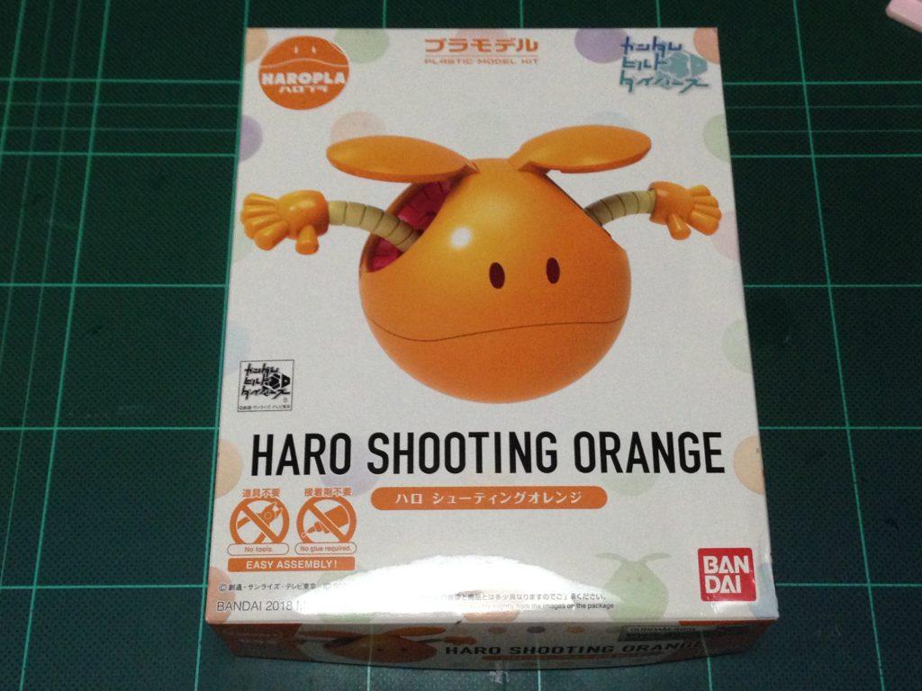 ハロプラ 003 ハロ シューティングオレンジ パッケージ