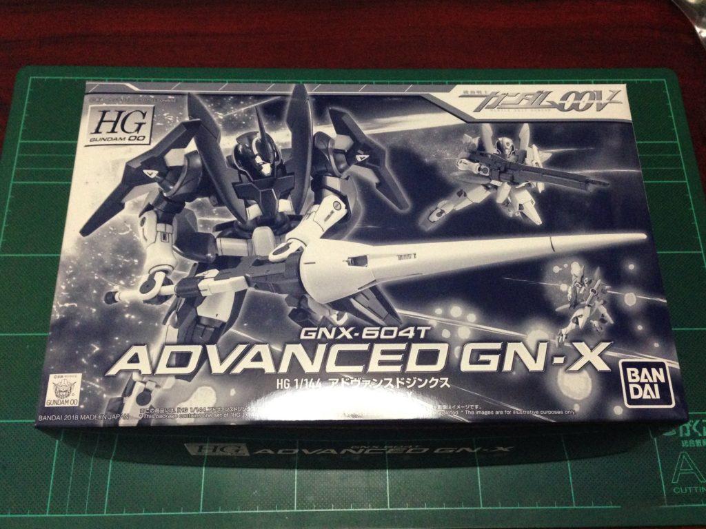 HG 1/144 GNX-604T アドヴァンスドジンクス [Advanced GN-X] パッケージ