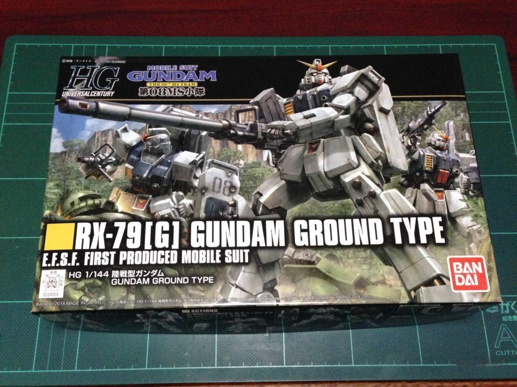 HGUC 210 1/144 RX-79[G] 陸戦型ガンダム パッケージ