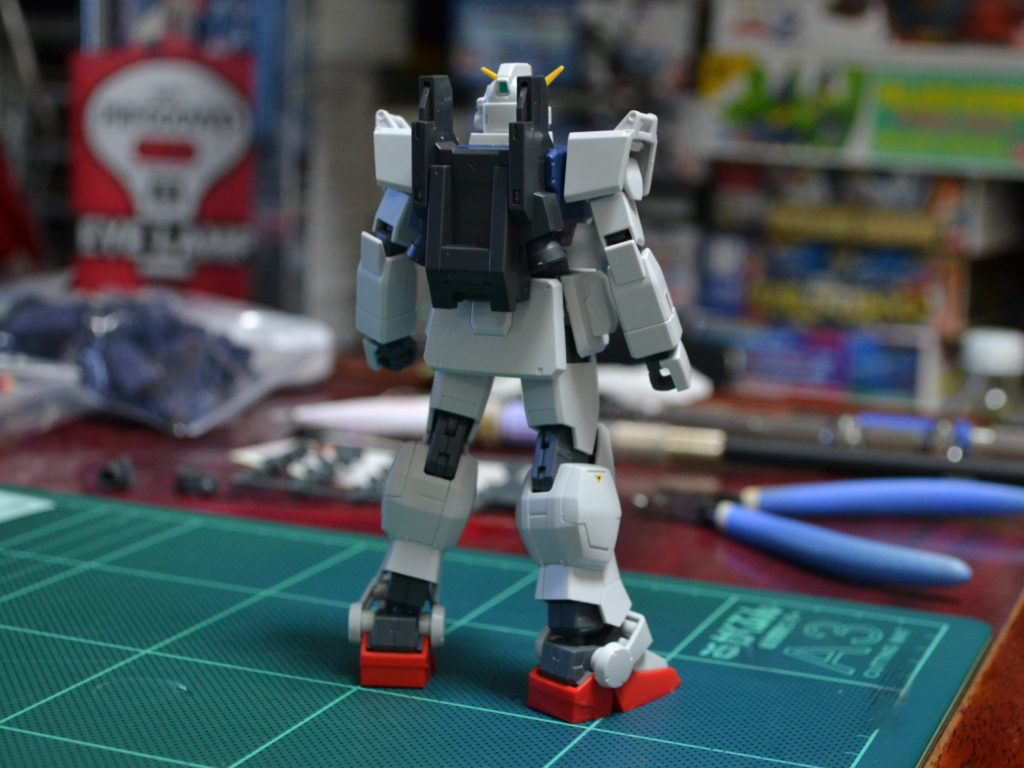 HGUC 210 1/144 RX-79[G] 陸戦型ガンダム [Gundam Ground Type] 背面