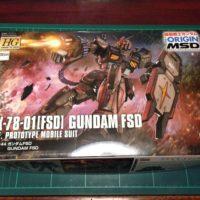 HG 021 1/144 RX-78-01[FSD] ガンダムFSD [Gundam FSD] [TheORIGIN]  0225730 5059154 4549660257301 4573102591548