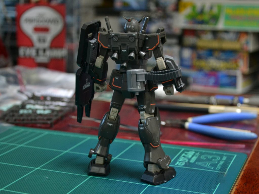 HG 021 1/144 RX-78-01[FSD] ガンダムFSD 背面