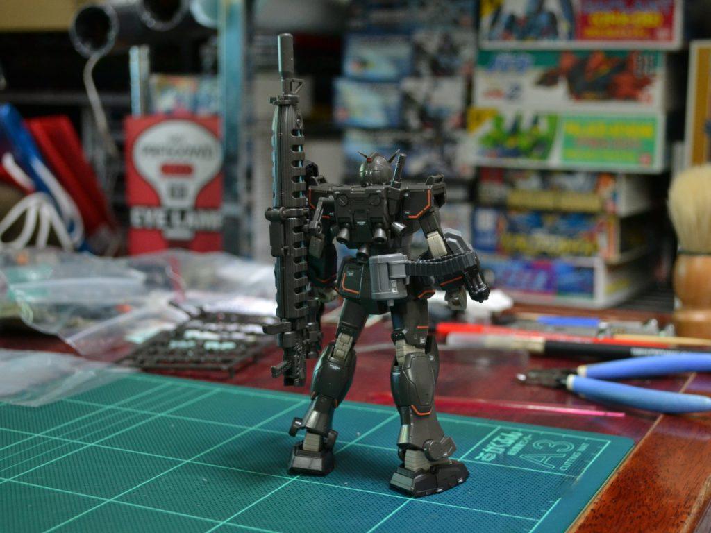 HG 1/144 局地型ガンダム用ロングレンジ・ビーム・ライフル [Longrange Beam Rifle [ProtoType]] 背面