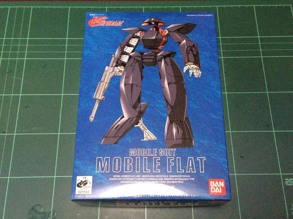 1/144 FLAT-L06D モビルフラット [Mobile FLAT] 4902425725697 パッケージ