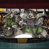 HGUC 1/144 MS-14A/C 量産型ゲルググ/ゲルググキャノン [Gelgoog / Gelgoog Cannon] パッケージ