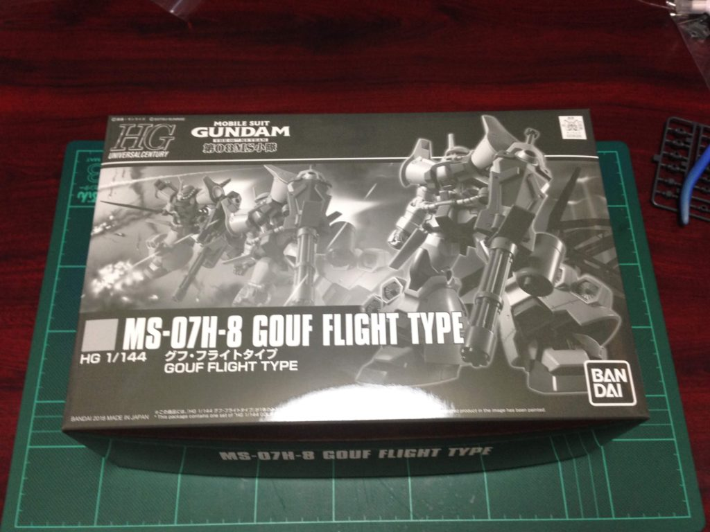 HGUC 1/144 グフ・フライトタイプ [Gofe Flight Type] パッケージ