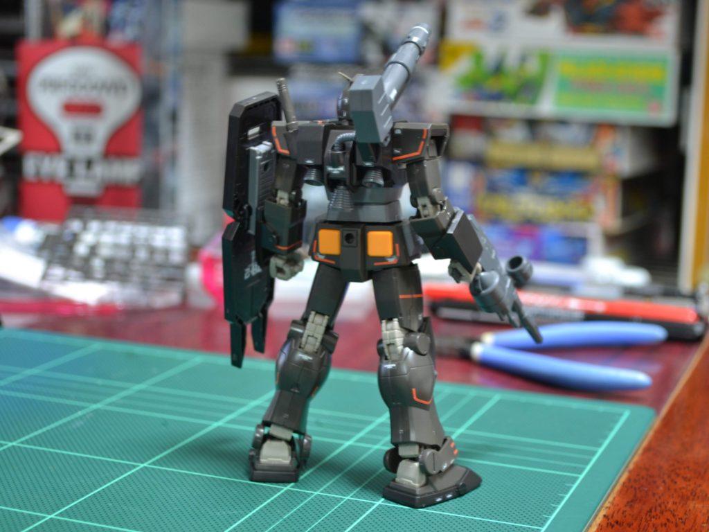 HG 1/144 FA-78-2 ヘビーガンダム [Heavy Gundam] 背面