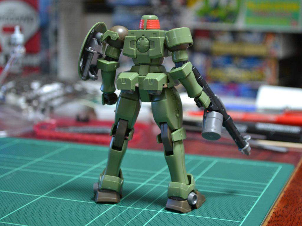OZ-06MS リーオー(シールド装備型) [Leo Shield Type] 背面
