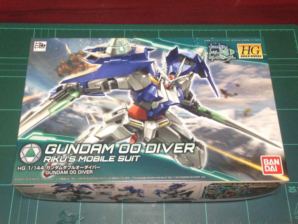 HGBD 000 1/144 GN-0000DVR ガンダムダブルオーダイバー [Gundam 00 Diver] パッケージ
