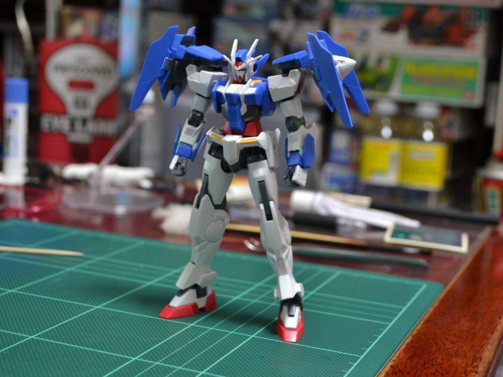 HGBD 000 1/144 GN-0000DVR ガンダムダブルオーダイバー [Gundam 00 Diver] 正面