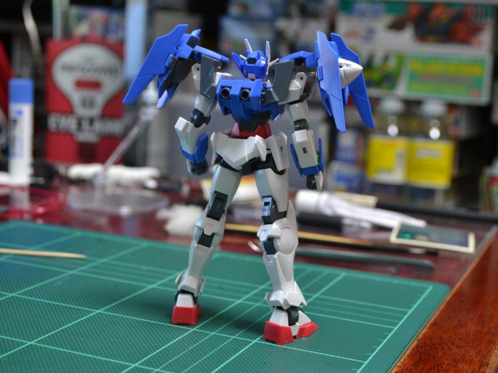 HGBD 000 1/144 GN-0000DVR ガンダムダブルオーダイバー [Gundam 00 Diver] 背面