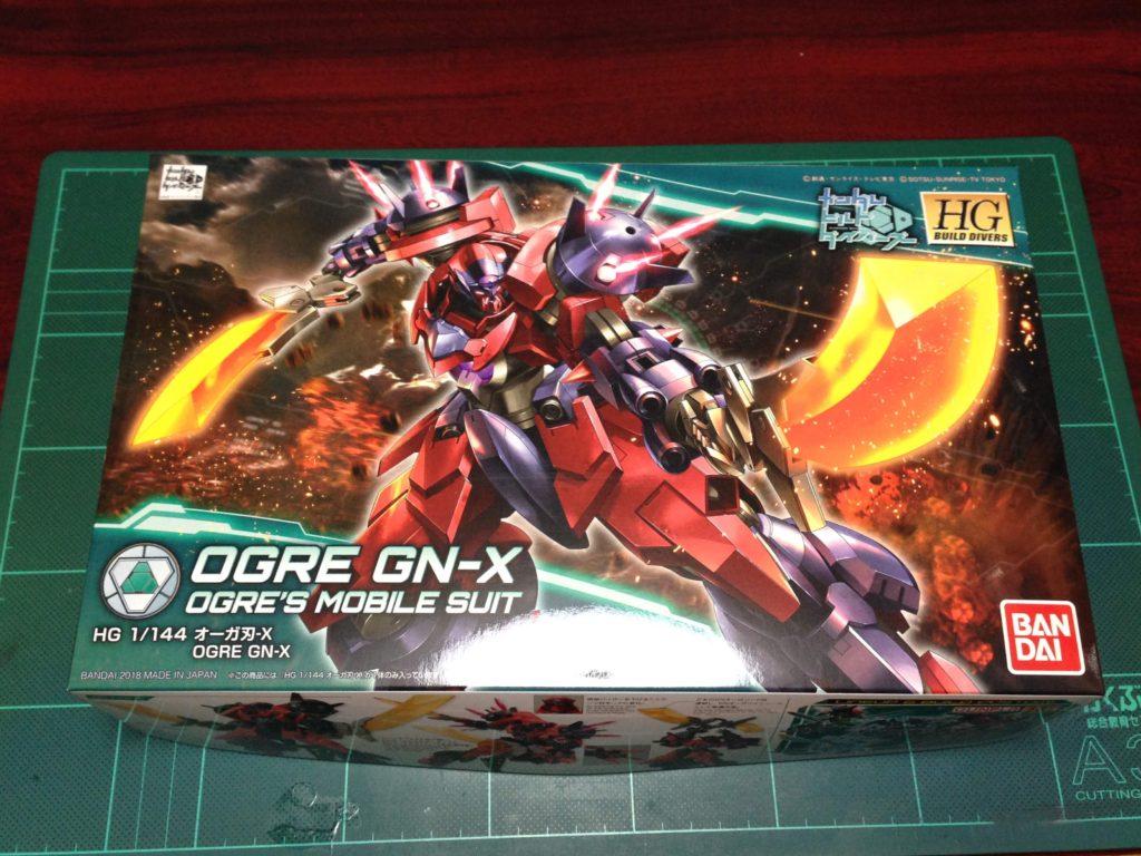 HGBD 005 1/144 GNX-803OG オーガ刃-X パッケージ