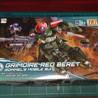 HGBD 003 1/144 GH-001RB グリモアレッドベレー [Grimoire Red Beret]