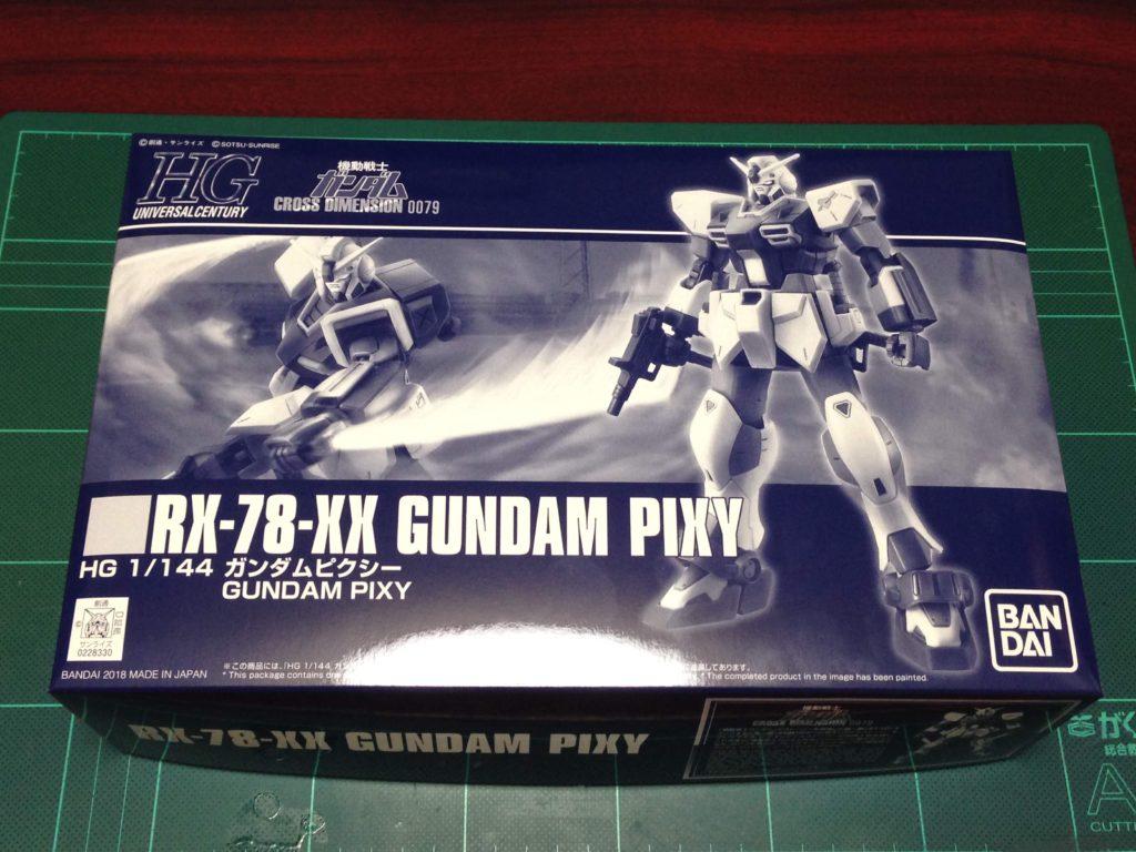 HGUC 1/144 RX-78-XX ガンダムピクシー [Gundam Pixy] パッケージ