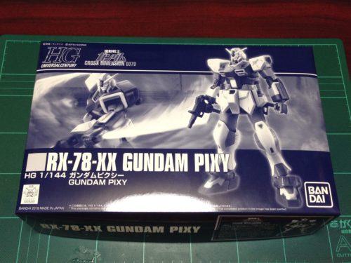 HGUC 1/144 RX-78-XX ガンダムピクシー [Gundam Pixy] JAN:4549660283300