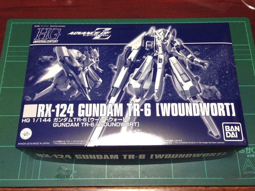 HGUC 1/144 RX-124 ガンダムTR-6 ウーンドウォート パッケージ