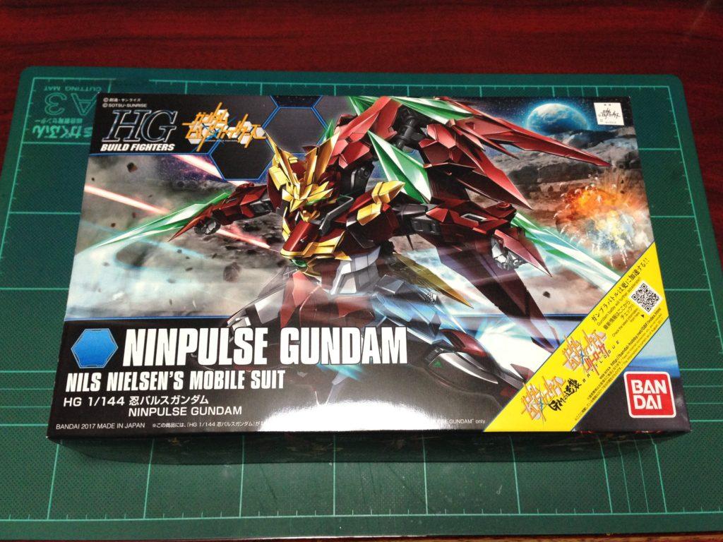 HGBF 1/144 忍ノ参 忍パルスガンダム [Ninpulse Gundam] パッケージ