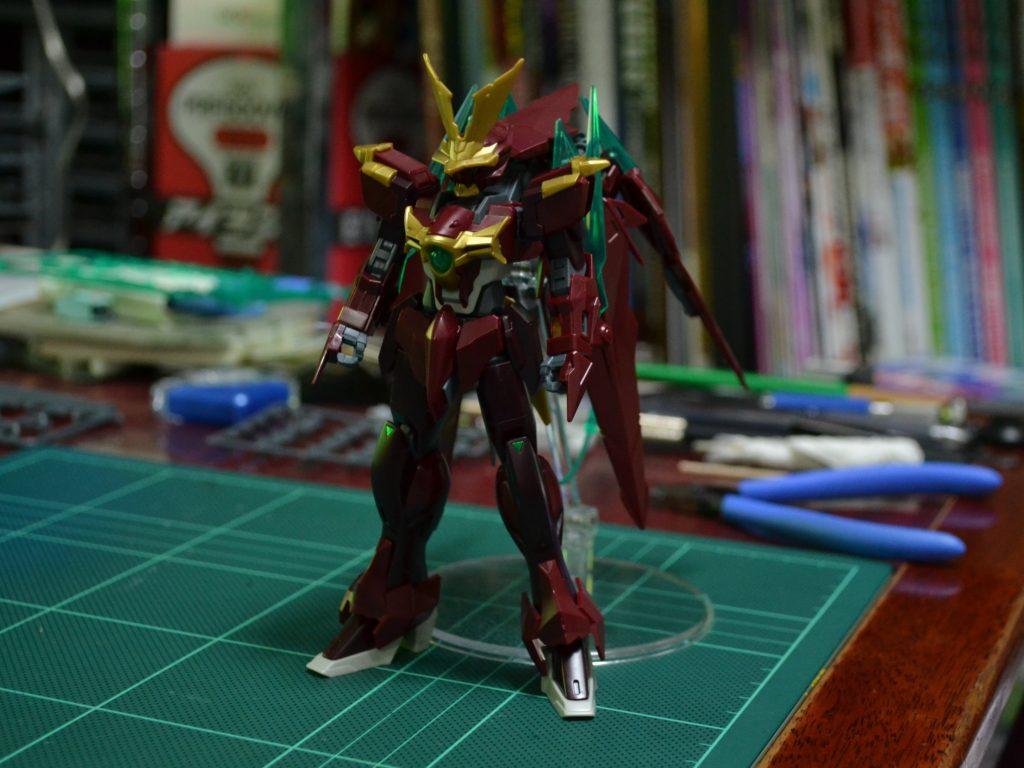 HGBF 1/144 忍ノ参 忍パルスガンダム [Ninpulse Gundam] 正面