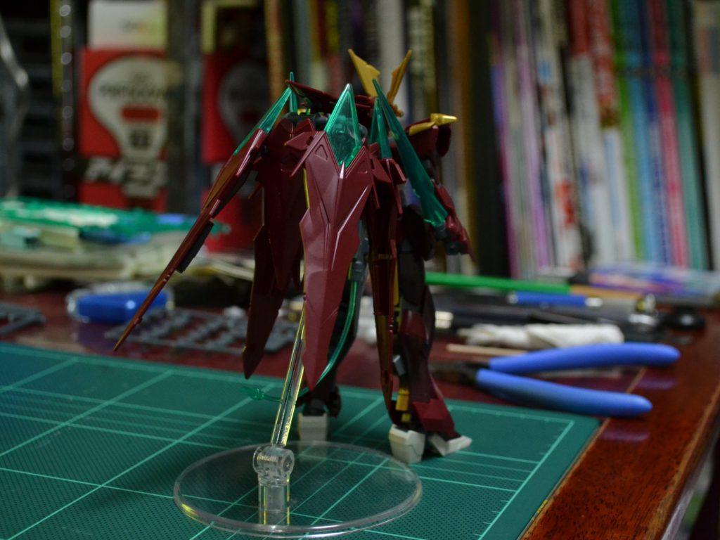 HGBF 1/144 忍ノ参 忍パルスガンダム [Ninpulse Gundam] 背面