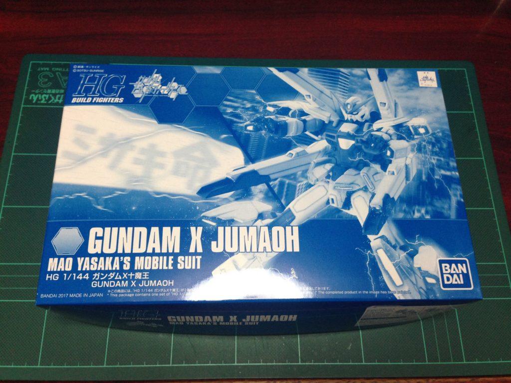 HGBF 1/144 GX-999910 ガンダムX十魔王 [Gundam X Jumaoh] パッケージ