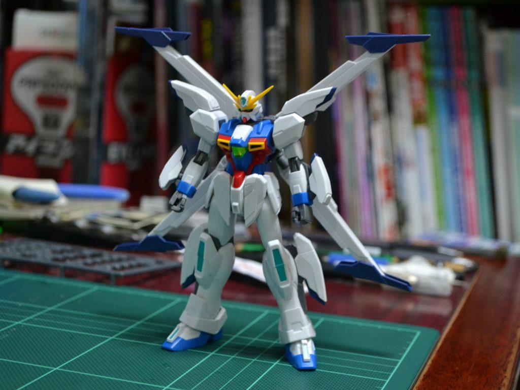 HGBF 1/144 GX-999910 ガンダムX十魔王 [Gundam X Jumaoh] 正面