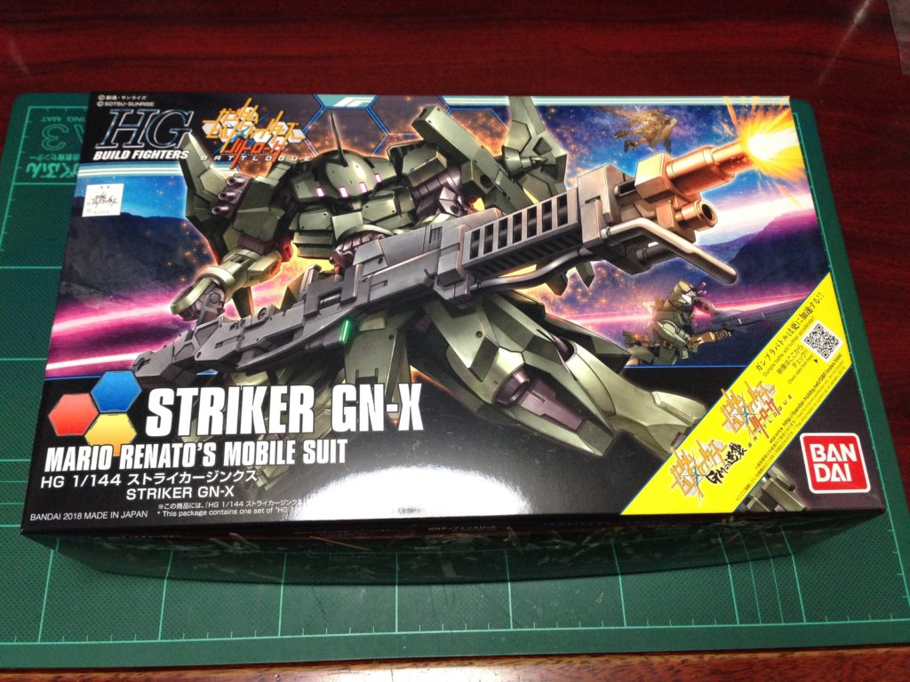 HGBF 065 1/144 GNX-611T/G ストライカージンクス パッケージ