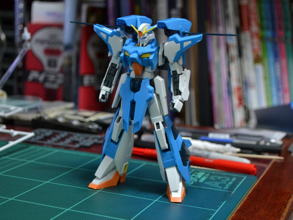 HGBF 1/144 amazon.co.jp A-Zガンダム 正面