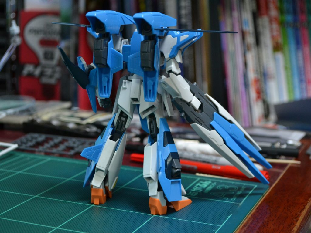 HGBF 1/144 amazon.co.jp A-Zガンダム 背面
