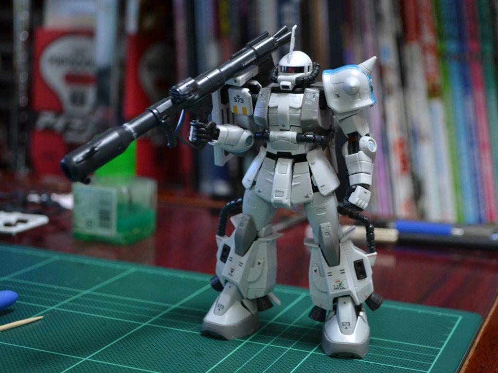 RG 1/144 MS-06R-1A シン・マツナガ専用ザクII [Shin Matsunaga's ZakuII] 正面