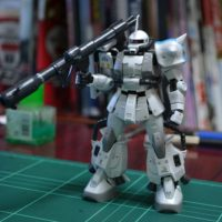 RG 1/144 MS-06R-1A シン・マツナガ専用ザクII Twitter素組仮まとめ