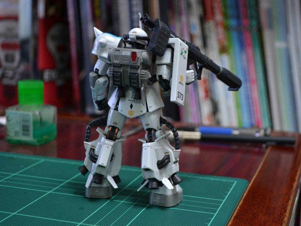 RG 1/144 MS-06R-1A シン・マツナガ専用ザクII [Shin Matsunaga's ZakuII] 背面