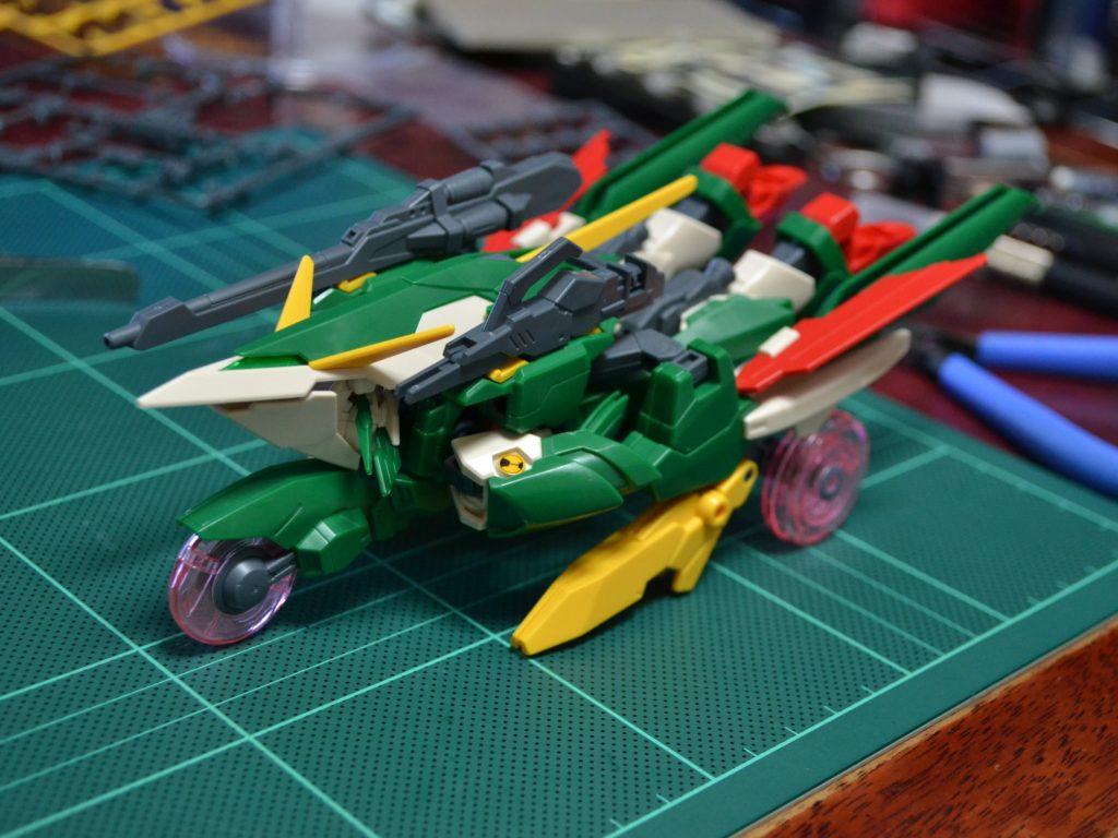 HGBF 1/144 XXXG-01Wfl ガンダムフェニーチェリベルタ [Gundam Fenice Liberta] 正面